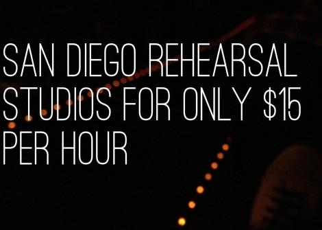 $15 Rehearsal Studio