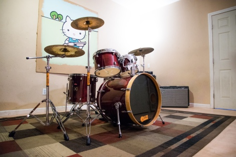 5 Piece Drum Kit (cymbals not included)